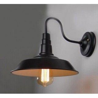 Antik fali lámpa amerikai stílus