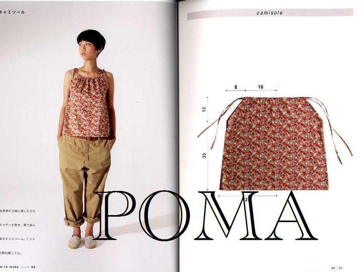 Yoshiko Tsukiori's Easy Cute Straight Stitch Sewing - Japanese Craft Book