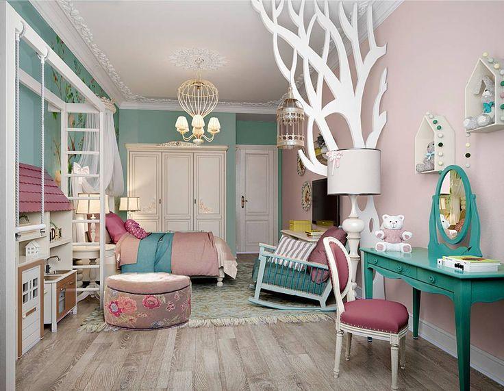 Яркий запоминающийся интерьер детской комнаты может быть разным и яркость может…