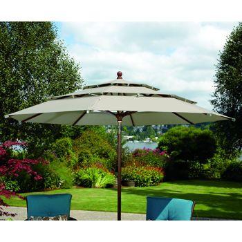 $229 Costco: 11u0027 Patio Market Umbrella With Tilt | Patio Furniture |  Pinterest | Market Umbrella, Patios And Roof Deck