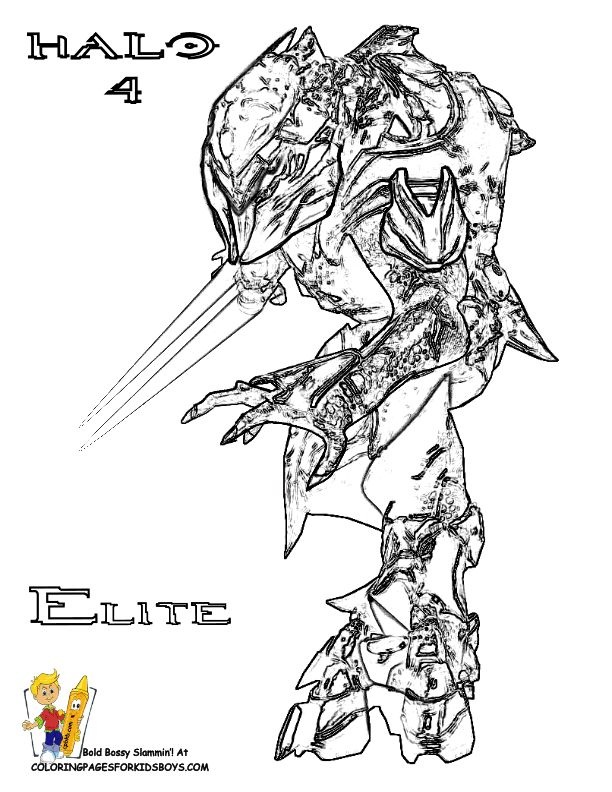 halo elite coloring pages Google Search Recipes to Cook Pinterest Coloring Halo and