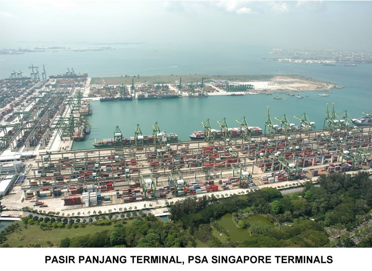 This Is The Lovely Port Of Singapore It Is The Second Largest Port In The World