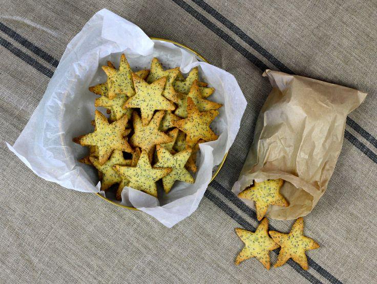 Maple, orange & poppy seed cookies | Edibles | Pinterest