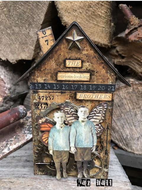 The Little Shabby Shed: Curious boys...