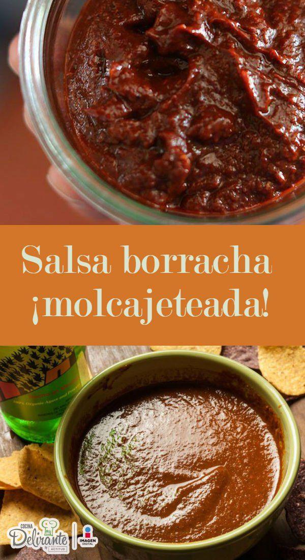 salsa borracha de pasilla | CocinaDelirante
