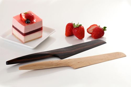 Japanese product design: Crafted in Kyoto, these elegant kitchen knives are sharp, ergonomic, and minimal in design.