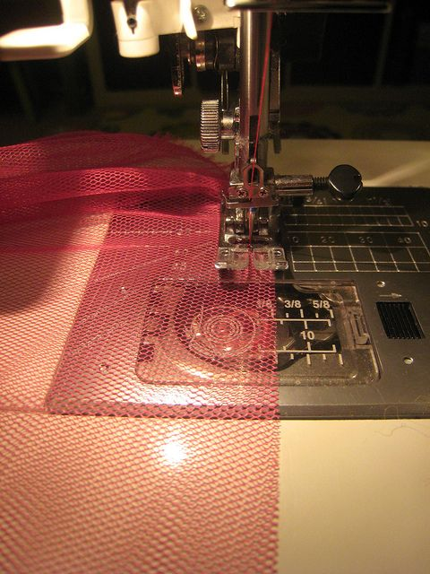 Detailed layered tule skirt/tutu tutorial