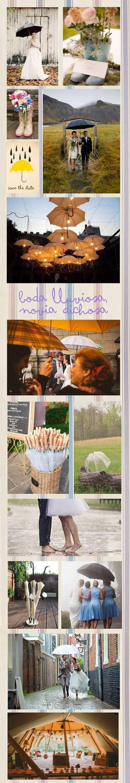 Boda lluviosa, novia dichosa, eso es así.  #boda #reportaje #videoinvitación Reflejo Media | Boda lluviosa… | http://reflejomedia.com