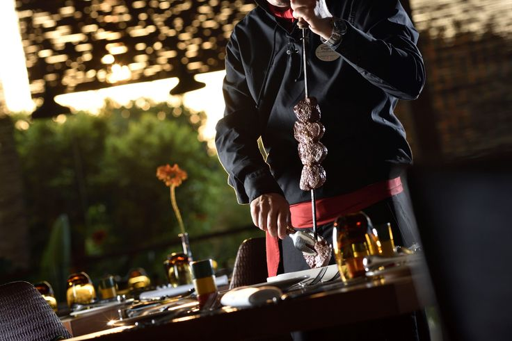 "Grill Do Brasil : Authentic Brazilian style steakhouse, or ""churrascaria"" with rodizio service. Restaurant only opens in summer season."