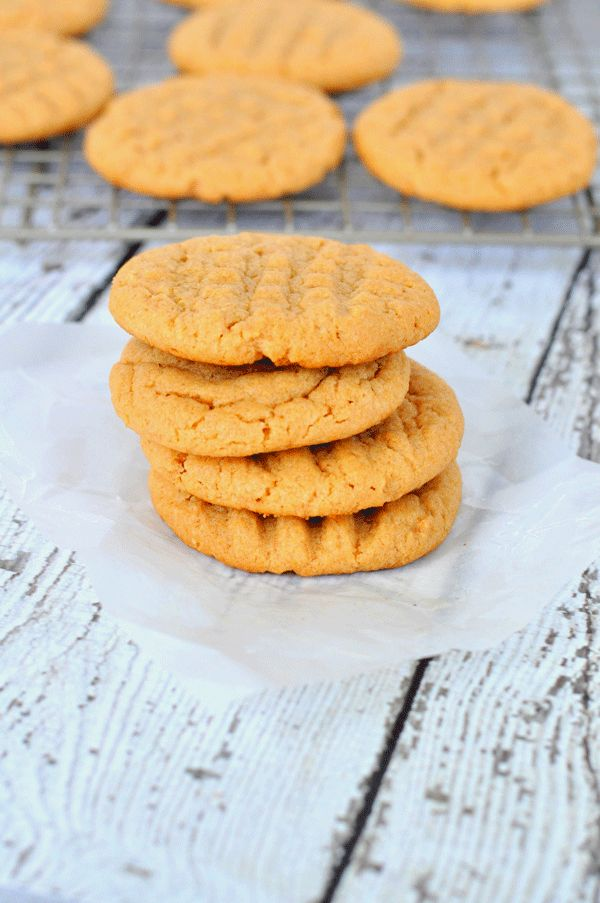 A simple sugar free peanut butter cookies recipes. Great for low carb diets, or those watching sugar intake!