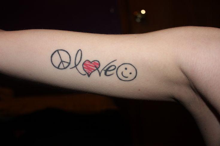 peace, love, happiness