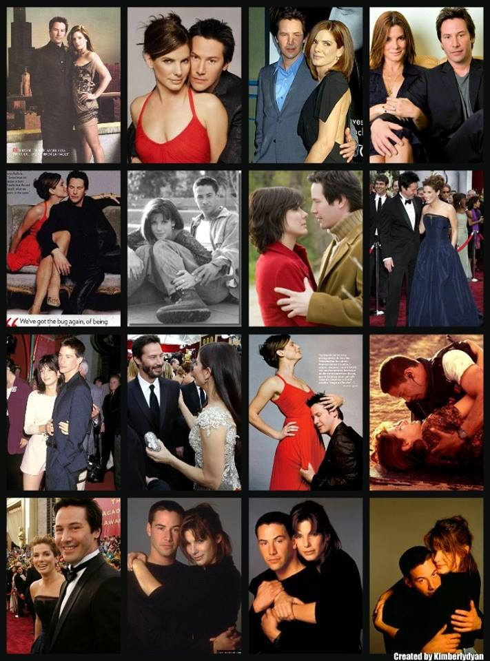 Keanu Reeves & Sandra Bullock = Love