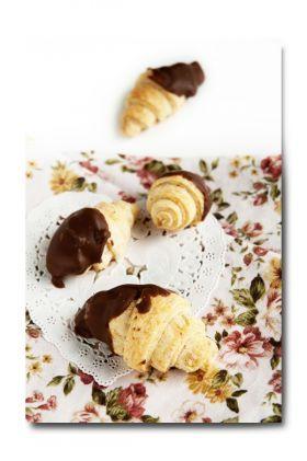 「【バレンタイン】チョコクロワッサン風クッキー」うさ子   お菓子・パンのレシピや作り方【corecle*コレクル】