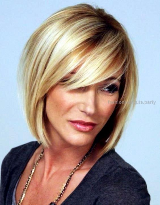 Image result for 40 year old woman round face hairstyles 2017   Hair ...