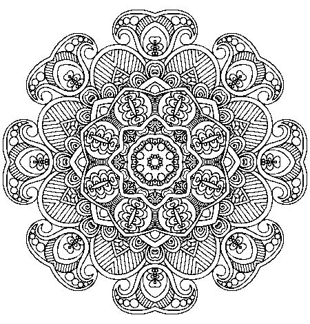 577 Best Images About Coloring Mandalas On Pinterest
