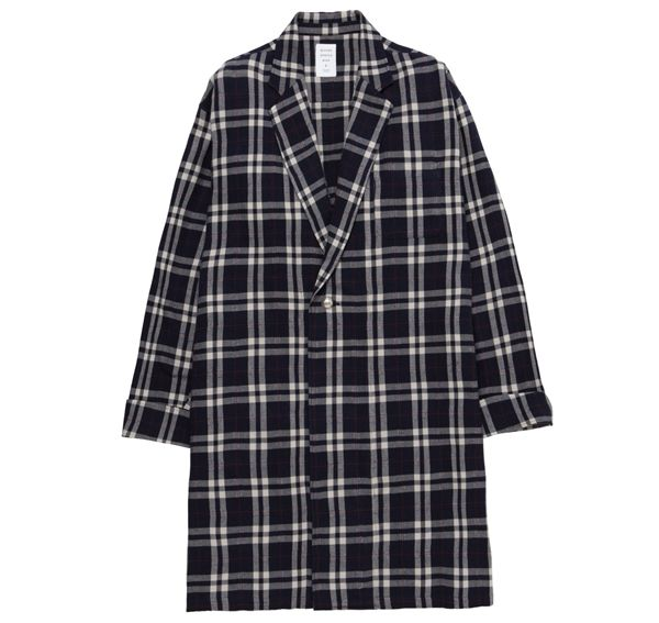 CHECK GOWN SHIRT