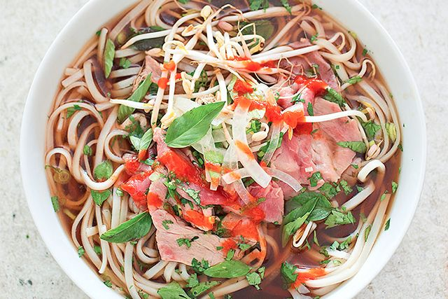 Vietnamese Pho by americastestkitchen via refinery29: Healthy, fresh and delicious. #Noodles #Pho #Vietnamese
