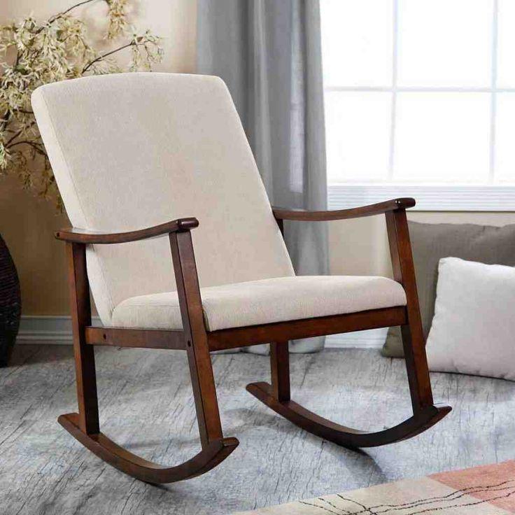 Wood Rocking Chair Cushions