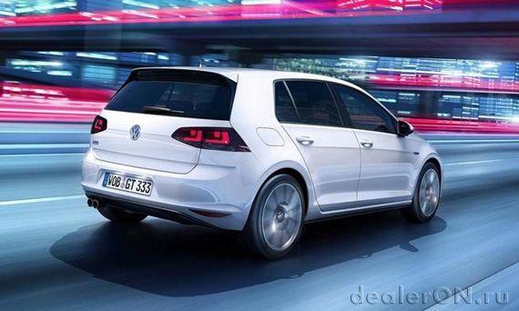 Гибридный Фольксваген Гольф GTE / Volkswagen Golf GTE 2014