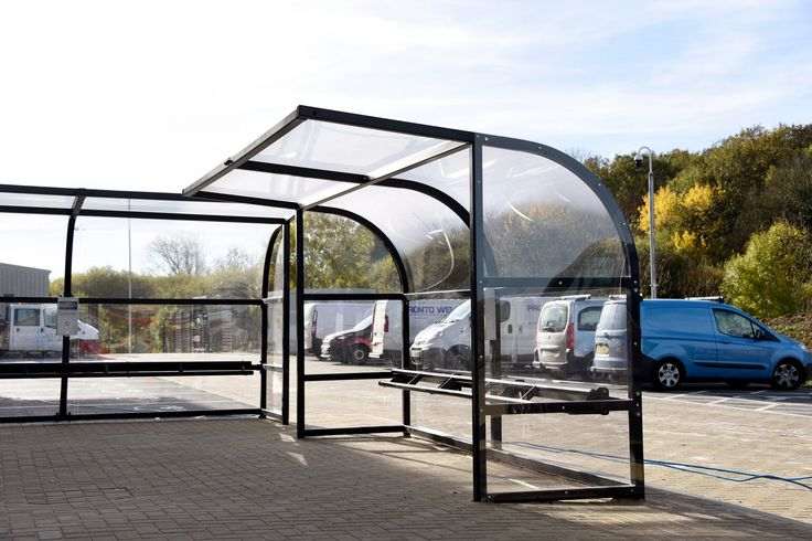 Glass Smoking Shelter : Best images about shelters canopies walkways on
