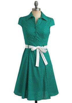 Hepcat Dress in Clover
