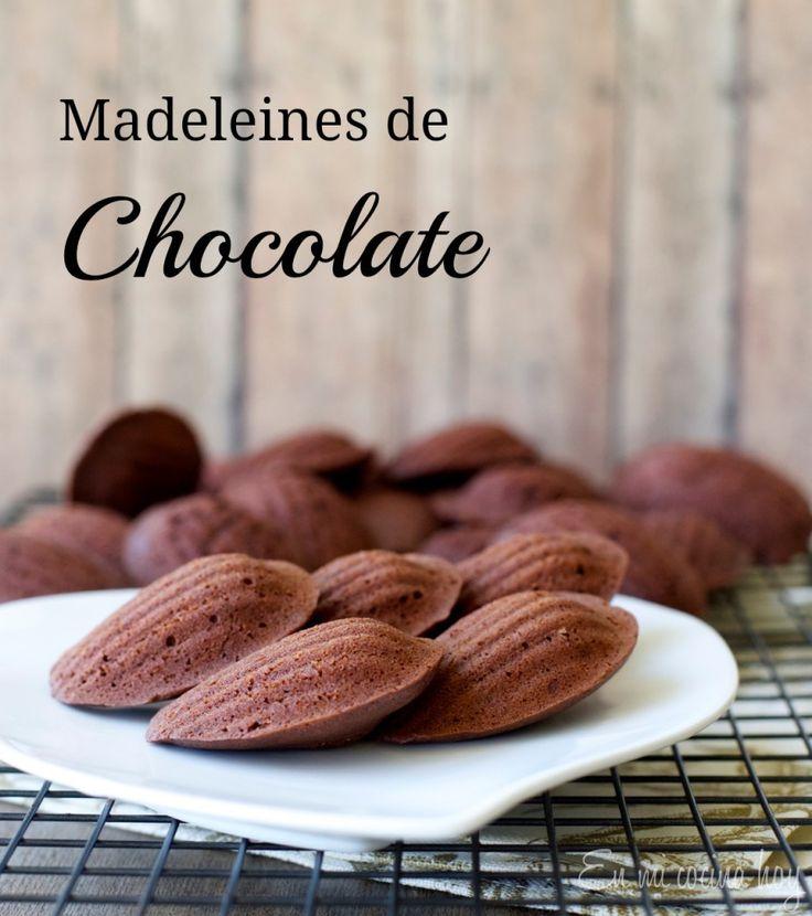 Madeleines de chocolate | En mi cocina hoy