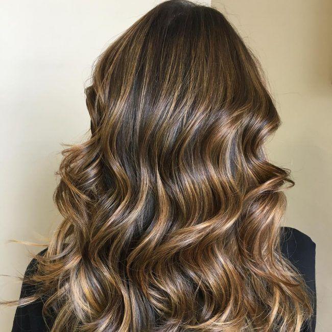33++ Dark hair with streaks ideas
