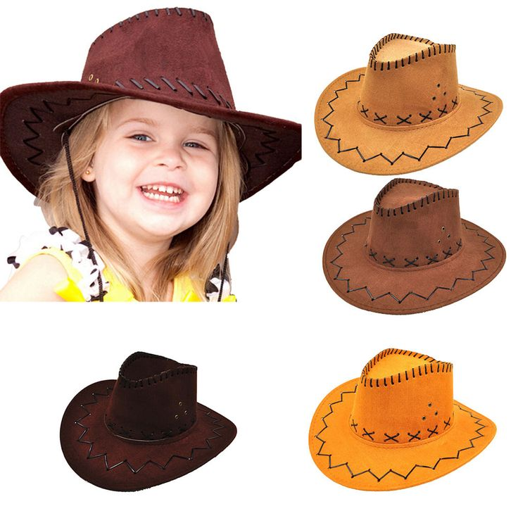 Halloween Western Cowgirl Cowboy Hat For Kid Boys Gilrs Party Costumes JS  | eBay