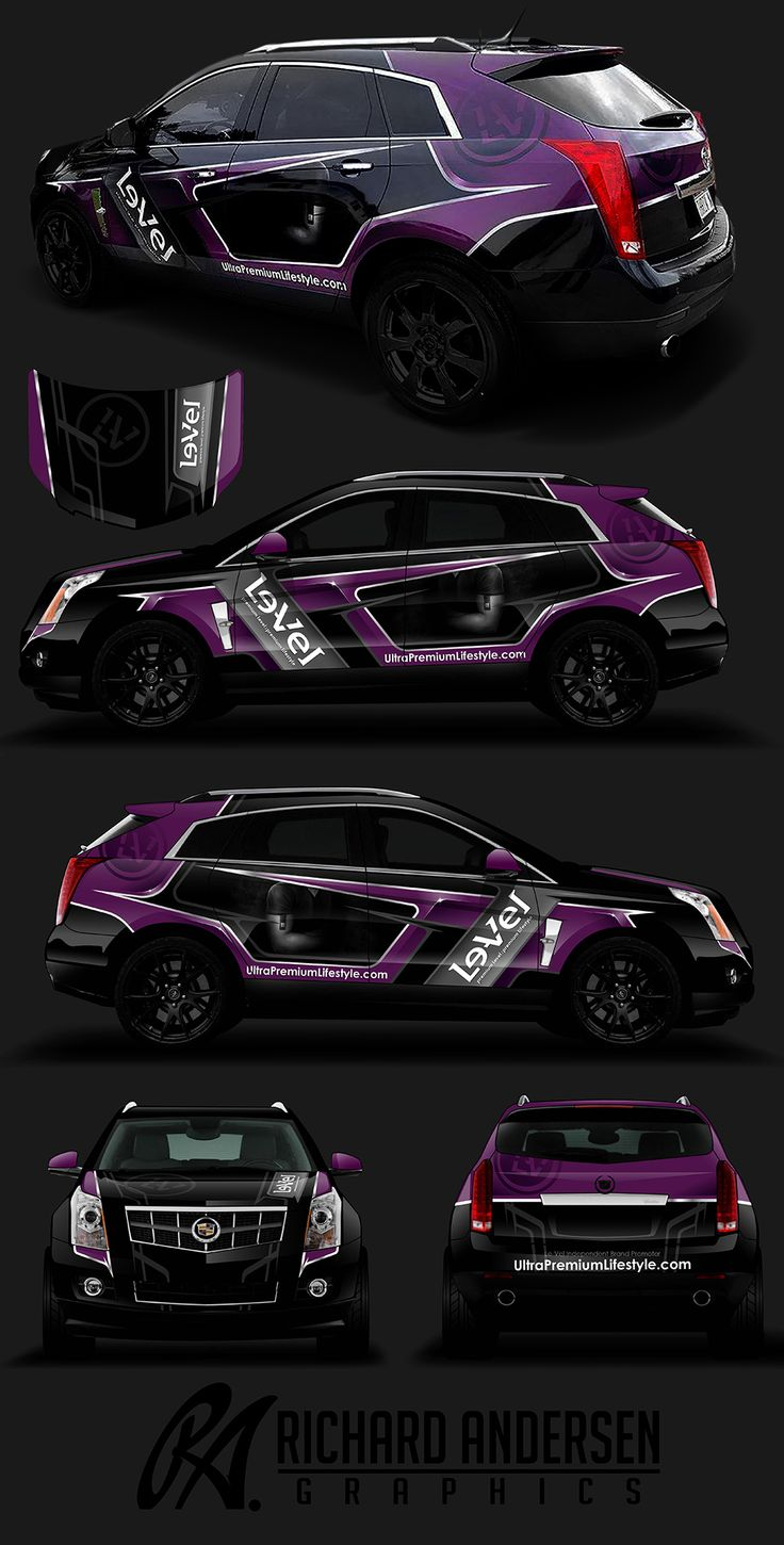 Car sticker design pinterest - Wrap Design For Level
