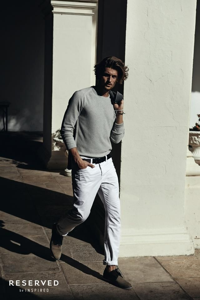 Reserved Spring/Summer 2014 Campaign- it takes a lot of work to appear effortless