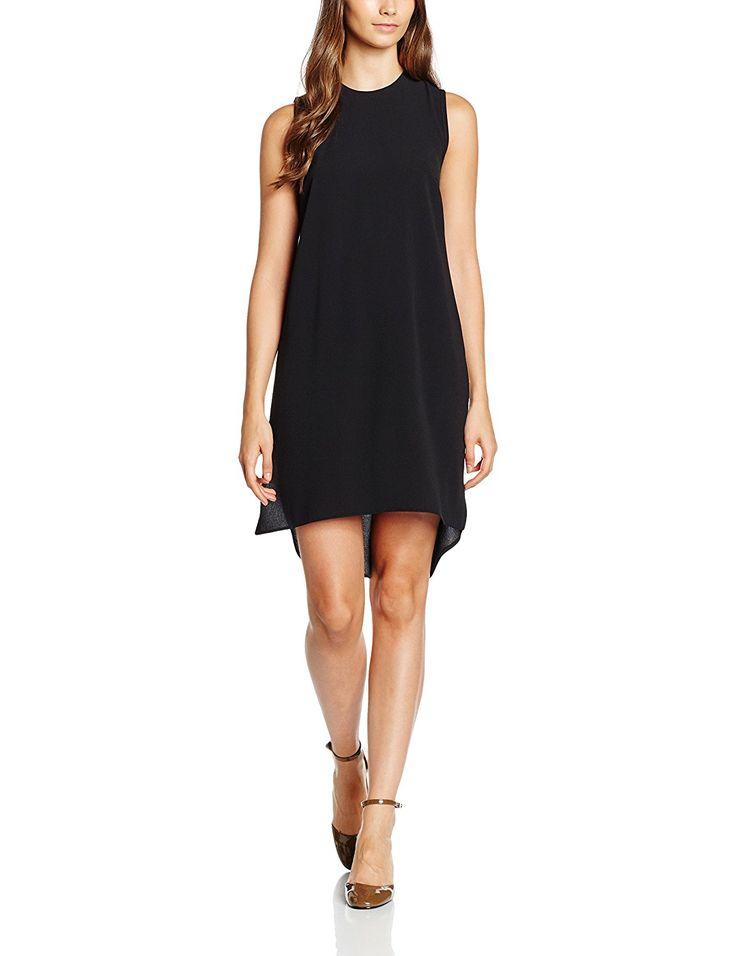 12, Black, Dorothy Perkins Women's Sleeveless Necklace Dress NEW
