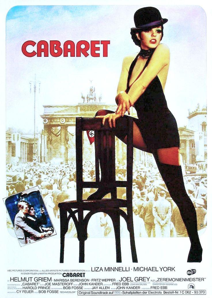 Cabaret Liza Minnelli vintage movie poster