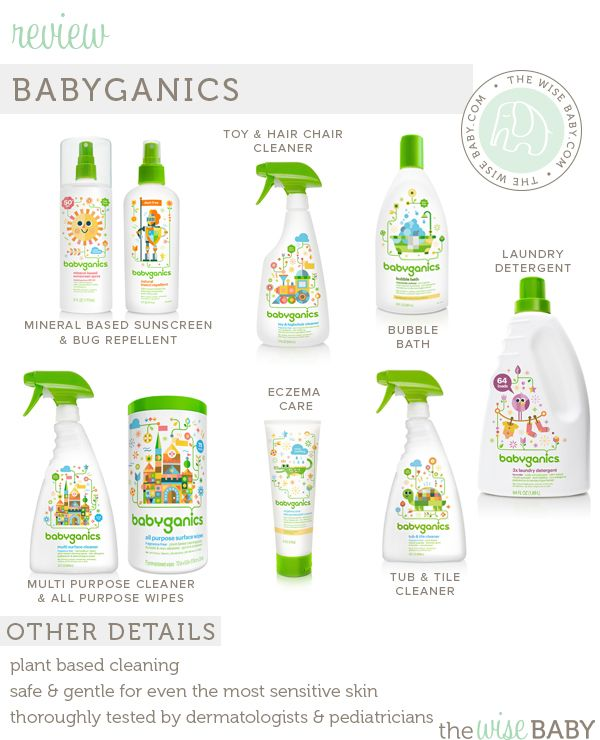 Babyganics review & giveaway. We love this line of baby safe products!