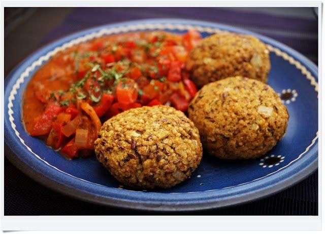 Meine Vegane Kche Gebackene Schnitzel Mit Hirse Und Pilzen  Vegan