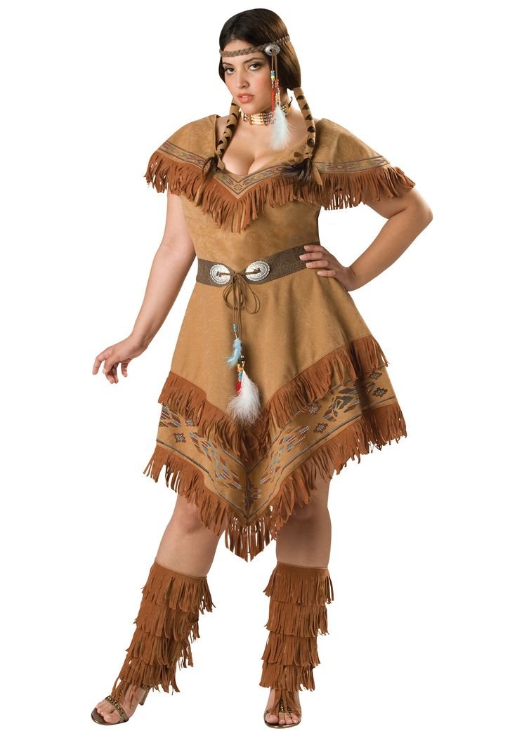 Extra Plus Size Halloween Costumes  Sexy Plus Size Tribal -2330