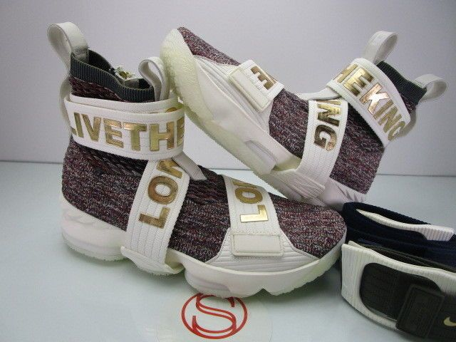 the best attitude ed1b4 d7885 DS Nike Lebron XV 15 KITH STAINED GLASS 8.5 #fashion ...