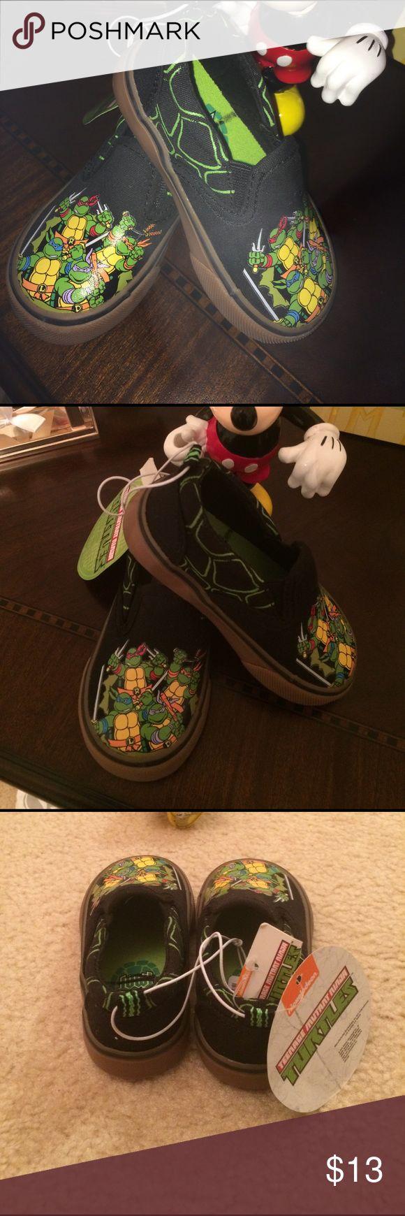 Nickelodeon Ninja Turtles Slip On Shoes Toddler.6 New Nickelodeon Ninja Turtles Slip On Shoes Toddler. Size 6 Nickelodeon Shoes Sneakers