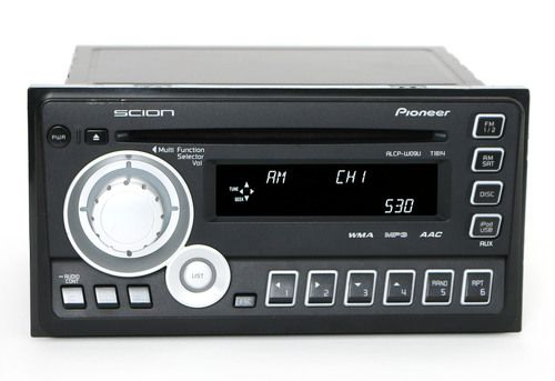 2011-2012 Scion TC Display and Receiver (AM FM CD) Pioneer Audio PN: PT546-00100