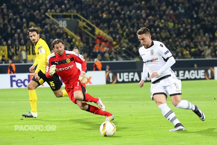 Ο Βαϊντενφέλερ δεν μπορεί να σταματήσει τον #Mak #BVB #UEL #PAOK #SignalIdunaPark #goal #glory