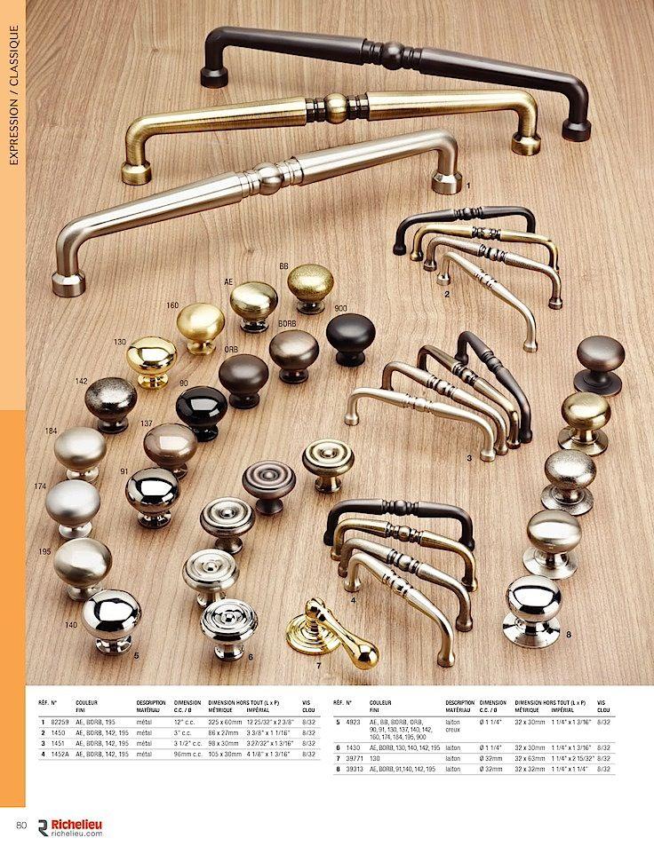 Catalogue - Collection - page 80 - Quincaillerie Richelieu