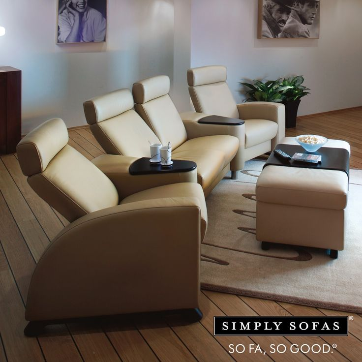 Stressless Legend home theatre seating. This recliner supports and moves with you. It has a gliding wheel to enhance the experience. NOW ON SALE. UP TO 30% OFF. Visit: http://simplysofas.in/home-theatre #NowOnSale #SimplySofasSale #decor #interiors #furnituresale #offer #discount #topbrands #julysale #worldsbest #simplysofas #sofasogood #sfsg #hometheatre #hometheatreseating #stressless