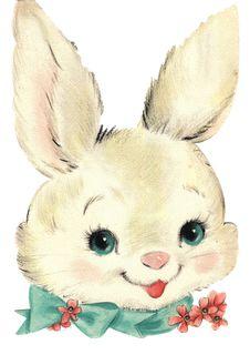 Una pintura del famoso Conejo de Pascua.