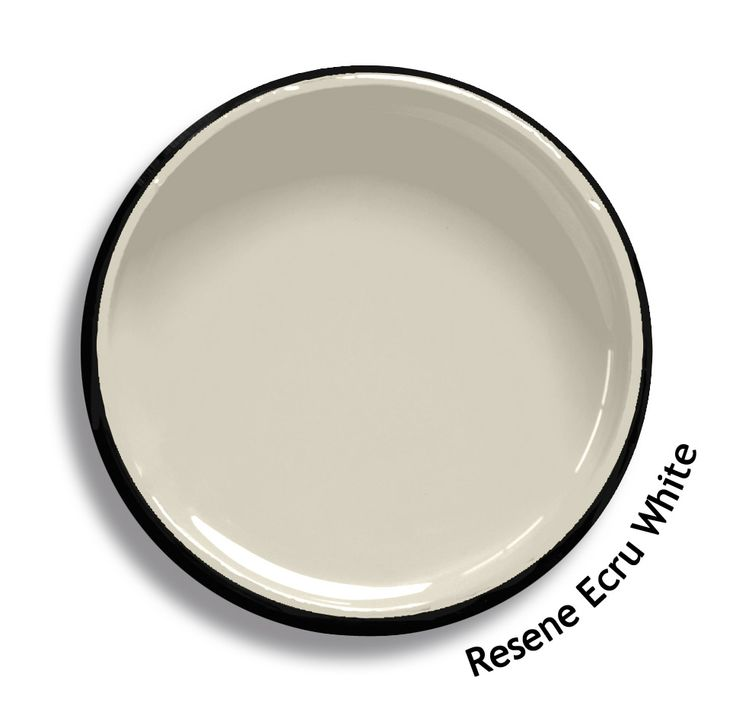 Resene Ecru White is a barely there beige, tinged with a sharp green. From the Resene Karen Walker Paints colour range. Try a Resene testpot or view a physical sample at your Resene ColorShop or Reseller before making your final colour choice. www.resene.co.nz/karenwalker.htm