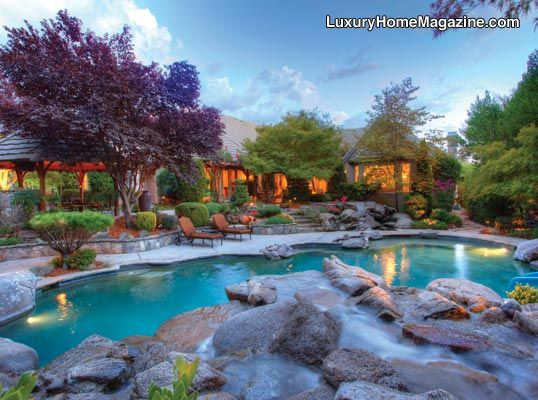 French Country Estate In Granite Bay Ca Luxurious