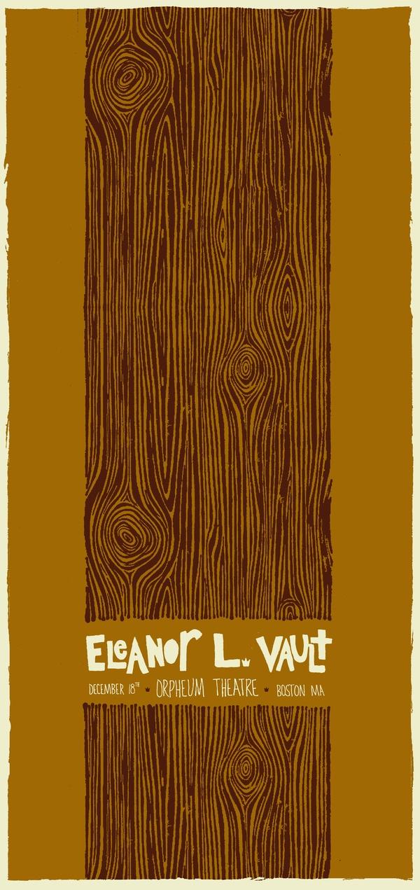 Eleanor L Vault by Jennifer Miranda, via Behance
