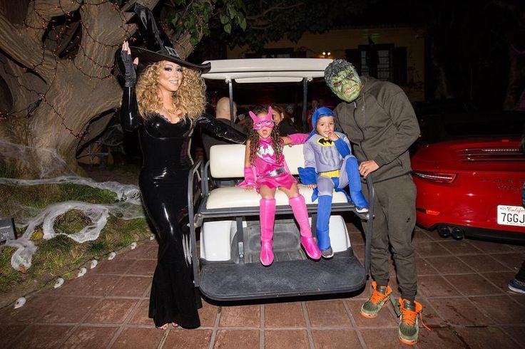 Mariah Carey und Nick Cannon feiern trotz Scheidung mit ihren Zwillingen gemeinsam Halloween.