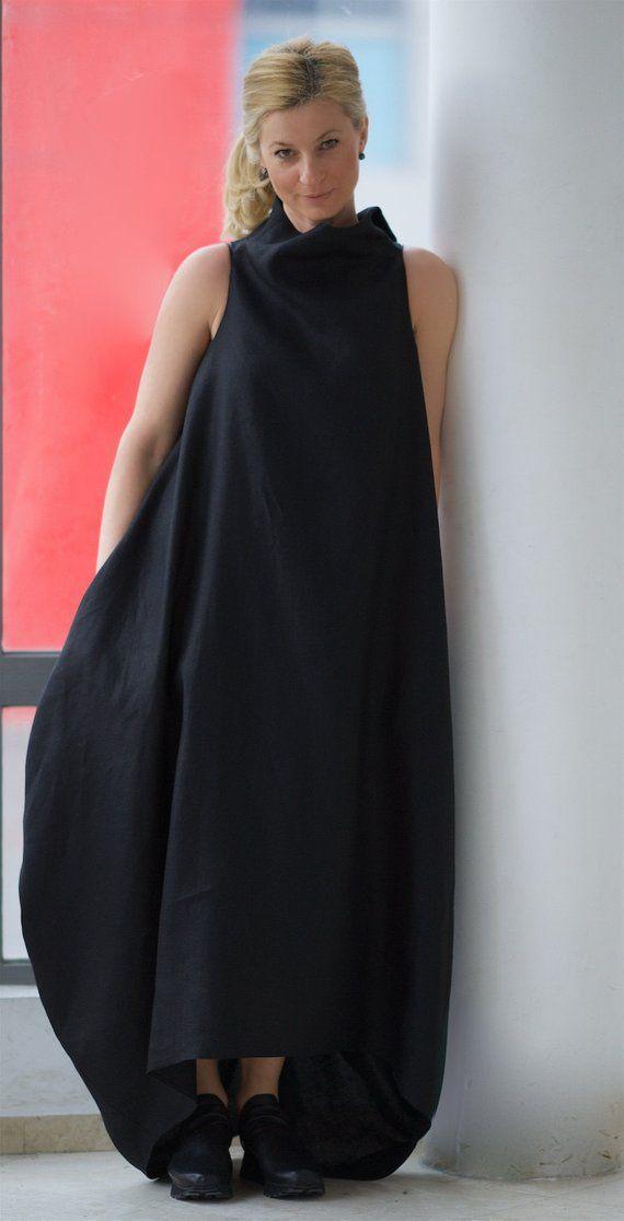 8b1cd60ba15 Linen Maxi Dress Women Caftan Dress Plus Size Maxi Dress
