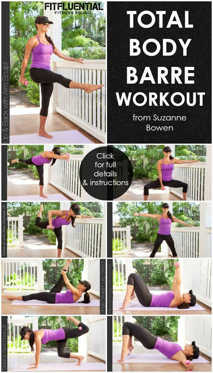 Total Body Barre Workout #fitness