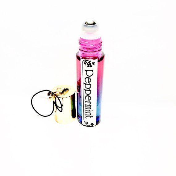 Peppermint Single Note Roll On Perfume Roller Ball Perfume Travel Perfume Purse Size Perf Essential Oil Perfume Homemade Perfume How To Make Homemade Perfume