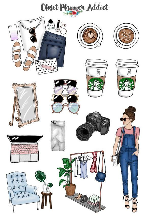 Blogger Babe Planner Stickers Mystery Grab Bag July 2017